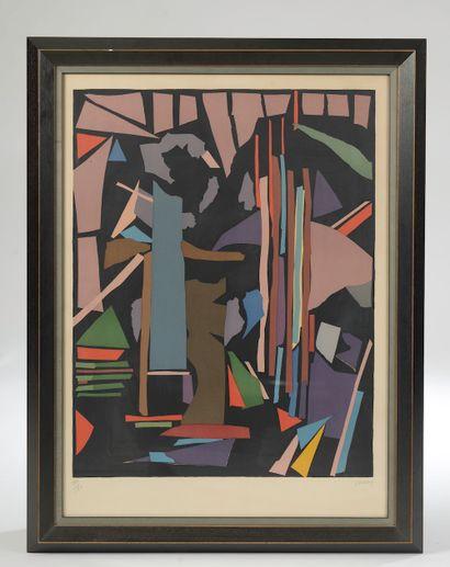 André LANSKOY (1902-1976). Composition....