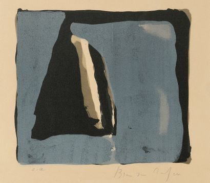 Bram VAN VELDE (1895-1981). Ensemble de...