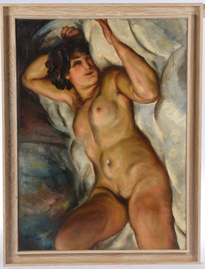 Raymond PALLIER (XIXe-XXe siècle). Le repos...