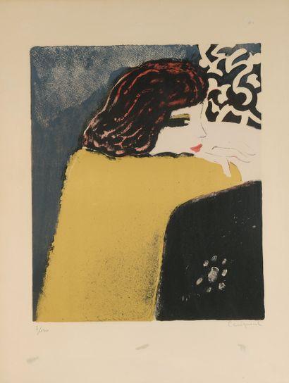Jean-Pierre CASSIGNEUL (né en 1935). Femme...