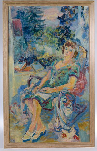 Germaine LACAZE (1908-1971). Portrait de...