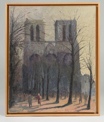 Jaro HILBERT (1897-1995). Notre-Dame de...