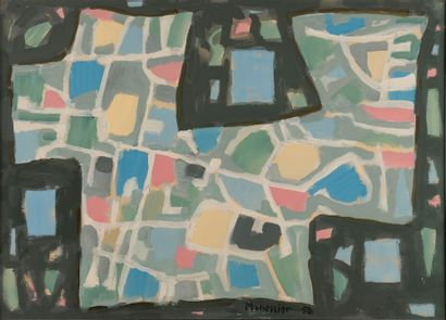 Alfred MANESSIER (1911-1993). Composition....