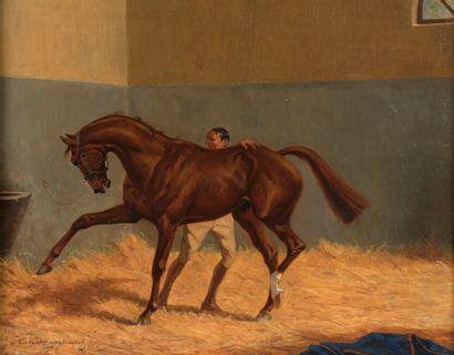 André MARCHAND (Paris, 1877 - 1951). Étalon...
