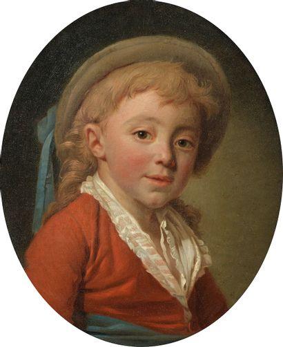 Jean-Baptiste HUET (Paris, 1745-1811). Portrait...