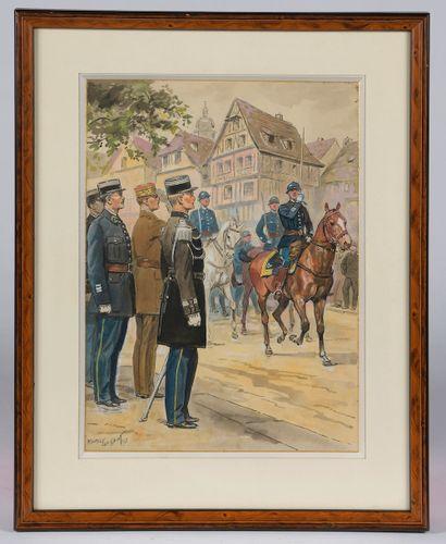 Maurice TOUSSAINT (Fontenay-aux-Roses, 1882...