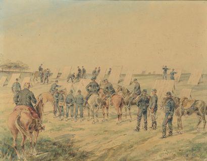 Édouard DETAILLE (Paris, 1848 - 1912). «...
