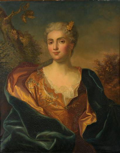 D'après Hyacinthe RIGAUD, vers 1880. Portrait...