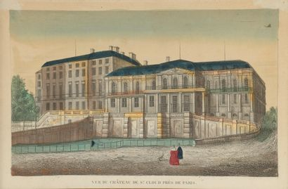 École française du XIXe siècle. « Vue du...