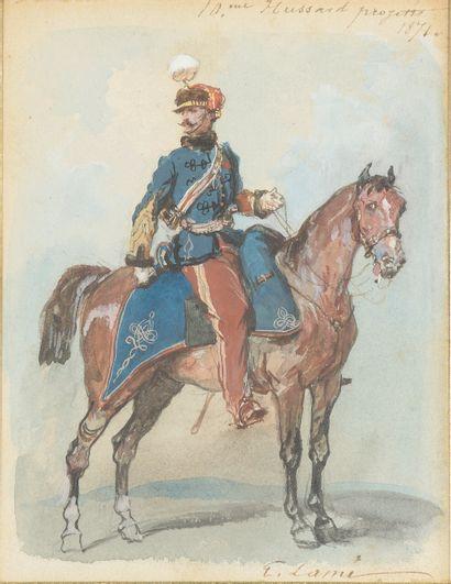 Eugène LAMI (Paris, 1800 - 1890). « 10ème...