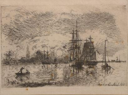 *D'après Johan-Barthold JONGKIND (1819-1891)....