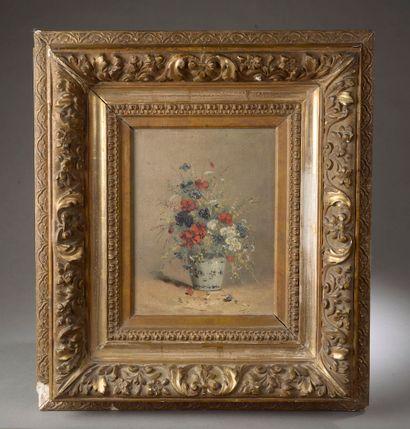 Eugène-Henri CAUCHOIS (1850-1911).  Bouquet...