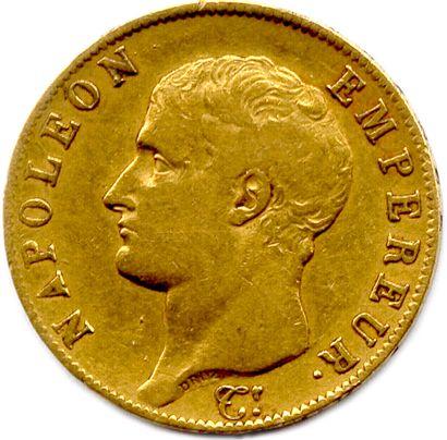 NAPOLEON Ier 1804-1814  40 Francs or 1806...
