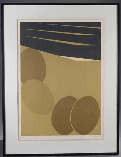 R.TYMEN (XXe - XXIe siècle).  Abstraction....