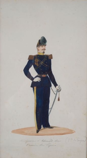 École du XIXe siècle.  Portrait du Prince...