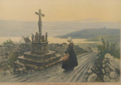 Lionello BALESTRIERI (1872-1958).  Temps...
