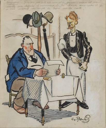 Georges PAVIS (Paris, 1886 - Versailles,...