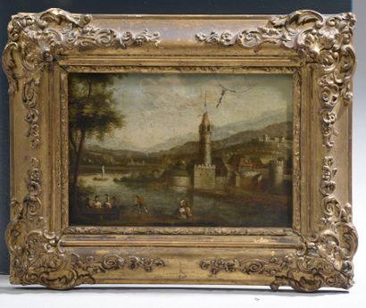 École de la vallée du Rhin de la fin XVIIIe...