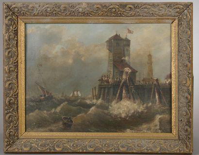 L. CHEVALIER (XXe siècle).  Le port par gros...