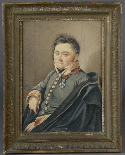 Antoine-Charles THÉLOT (1798-1853).      Portrait...