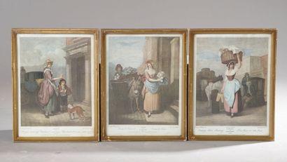 École Anglaise du XIXe siècle, d'après George...