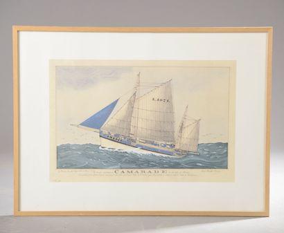 D'après Paul-Emile PAJOT (1870 - 1930).