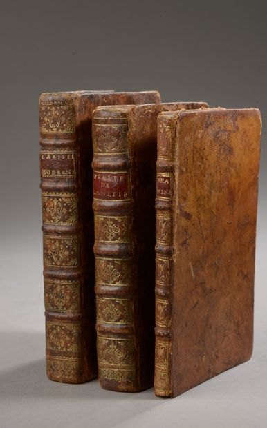 Ensemble de trois volumes comprenant :  -...