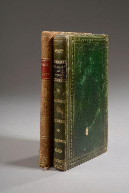 ARNAULT, Fables, Paris, Chaumerot, 1812....
