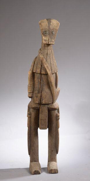 Grande statue de gardien SENOUFO, Côte d'Ivoire....