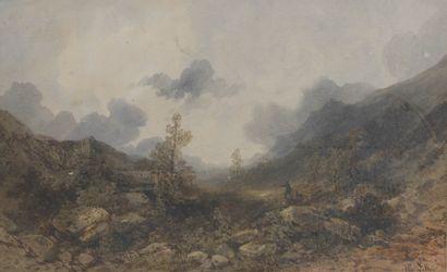 Gabriel Hippolyte LEBAS (1812-1880). Scène...