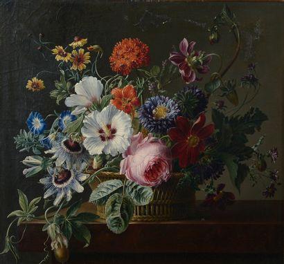 Suiveur de Cornelis VAN SPAENDONCK.  Bouquet...