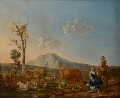 École hollandaise vers 1820 d'après Carel...