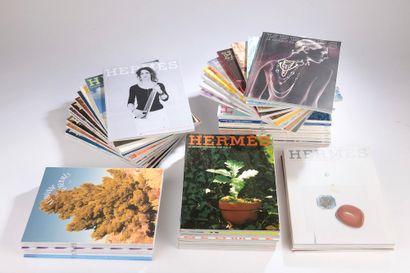 HERMÈS.  Set of fifty magazines