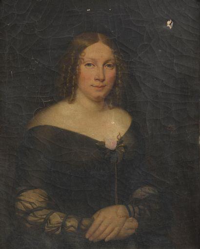 Claude Noël THÉVENIN (1801-1849).  Portrait...