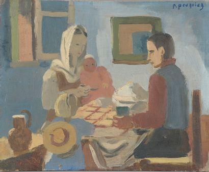 Pauline PAUGNIEZ (1890-1987).  La famille...
