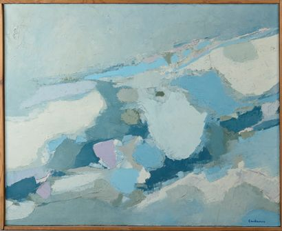 Jean Claude CARDINAUX (1937-1986)  Abstraction...
