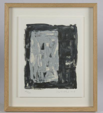Gilles ALTIERI (né en 1944).    Composition...