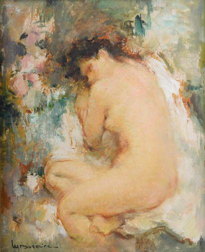 Maryse DUCAIRE-ROQUE (1911-1992).  Nu féminin....