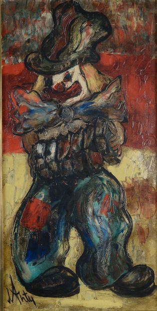 Henry Maurice d'ANTY (1910-1998).  Clown....