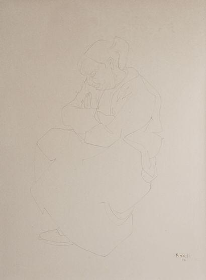 Henry Maurice d'ANTY (1910-1998).  Maternité....