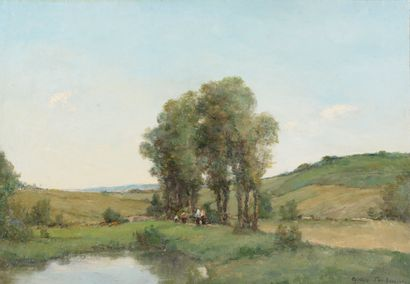 André des FONTAINES (1869-1910).  Environs...