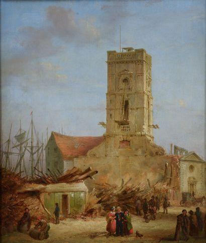 C.F. WICKSTEED (1780-1846). St Olave Church...