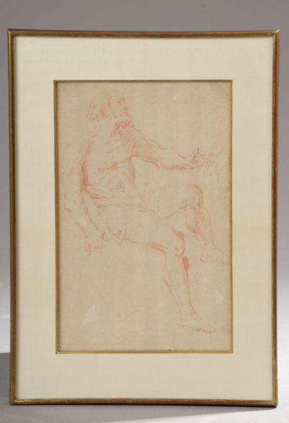 École italienne du XVIIIe siècle. Figure...