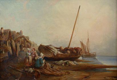 Hippolyte Benjamin ADAM (1808-1853). Femmes...