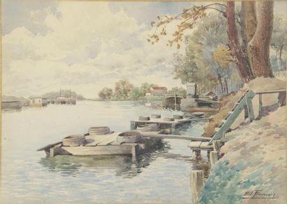 Edmond FRANÇOIS (XIXe siècle). L'île St Denis....