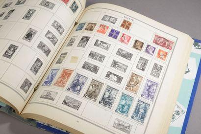 Un album de timbres Le Galilée (très incomplet,...