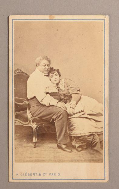 A. LIÉBERT Cie.  Carte de visite photographique...