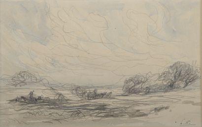 Henri Louis FOREAU (1866-1938).    Barque...