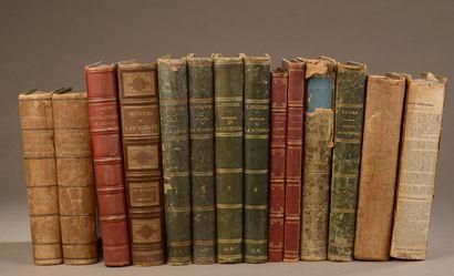 Ensemble de livres reliés, principalement...