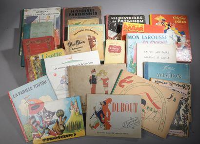 [ENFANTINA].    Ensemble de 21 volumes comprenant...